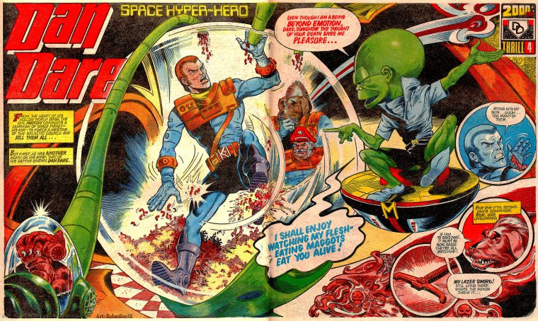 Image result for The Mekon Dan Dare 2000ad