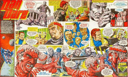 Image result for Dan Dare Vampires